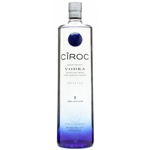 Ciroc bottle png. Ultra premium french vodka