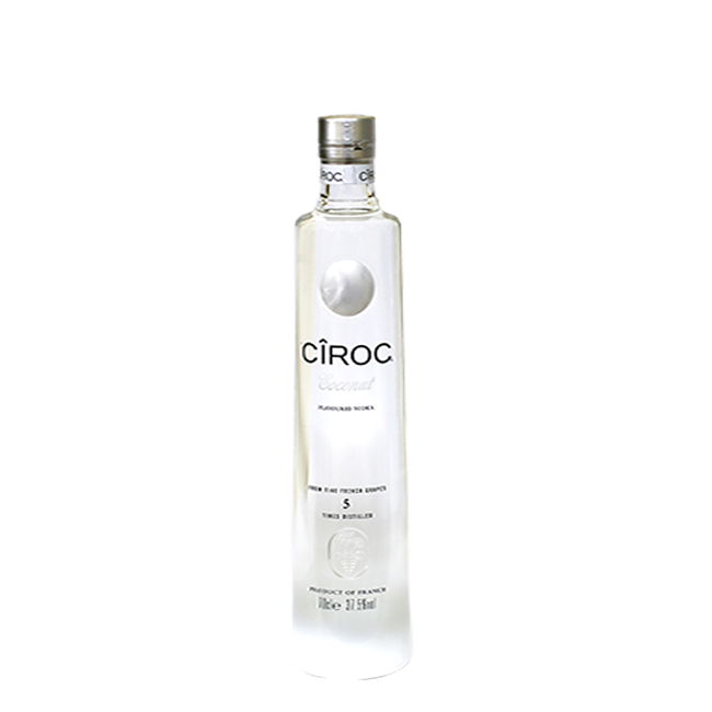 Ciroc bottle png. Coconut