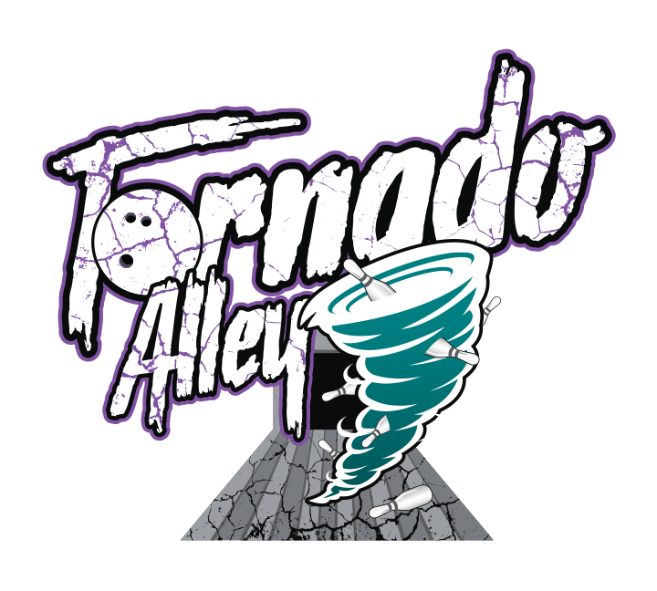 Underground bowling association tornado. City clipart alley