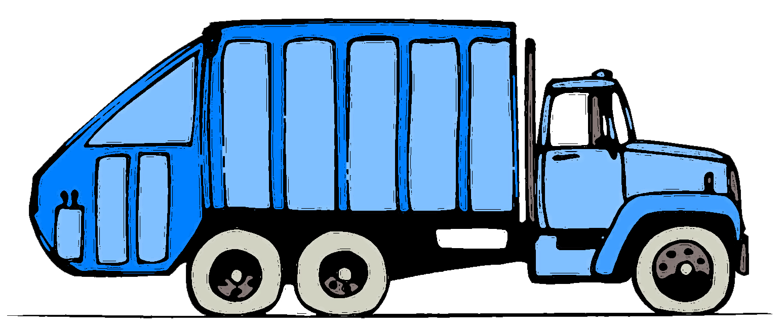 Garbage truck clip art. Clipart rock moving