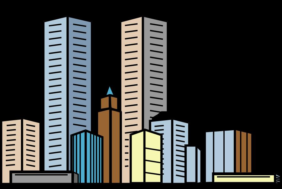 City jokingart com free. Cityscape clipart superman building