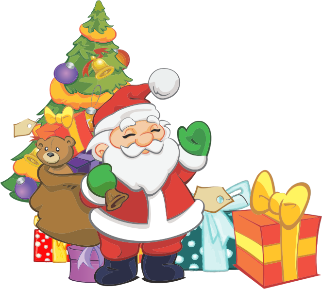 Hungry clipart santa. Coal city annual christmas