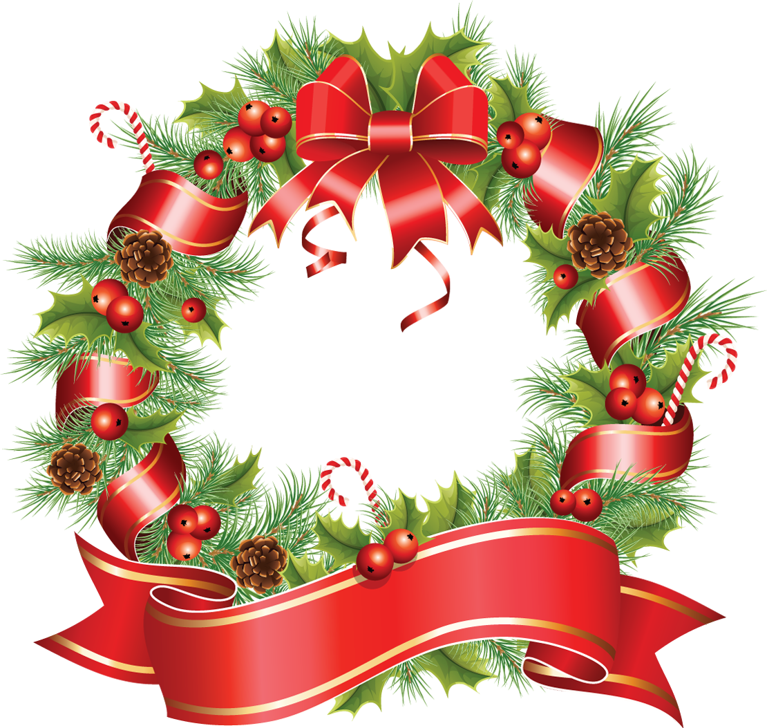 Beautiful round christmas png. Dinner clipart xmas
