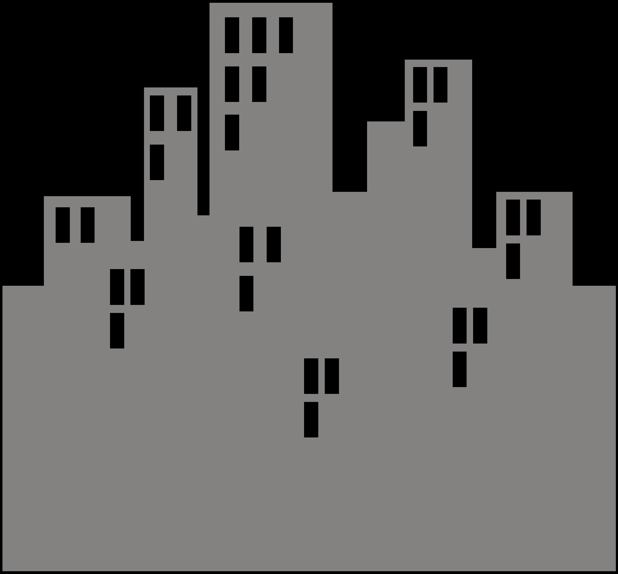 File city center wikimedia. Cityscape clipart svg
