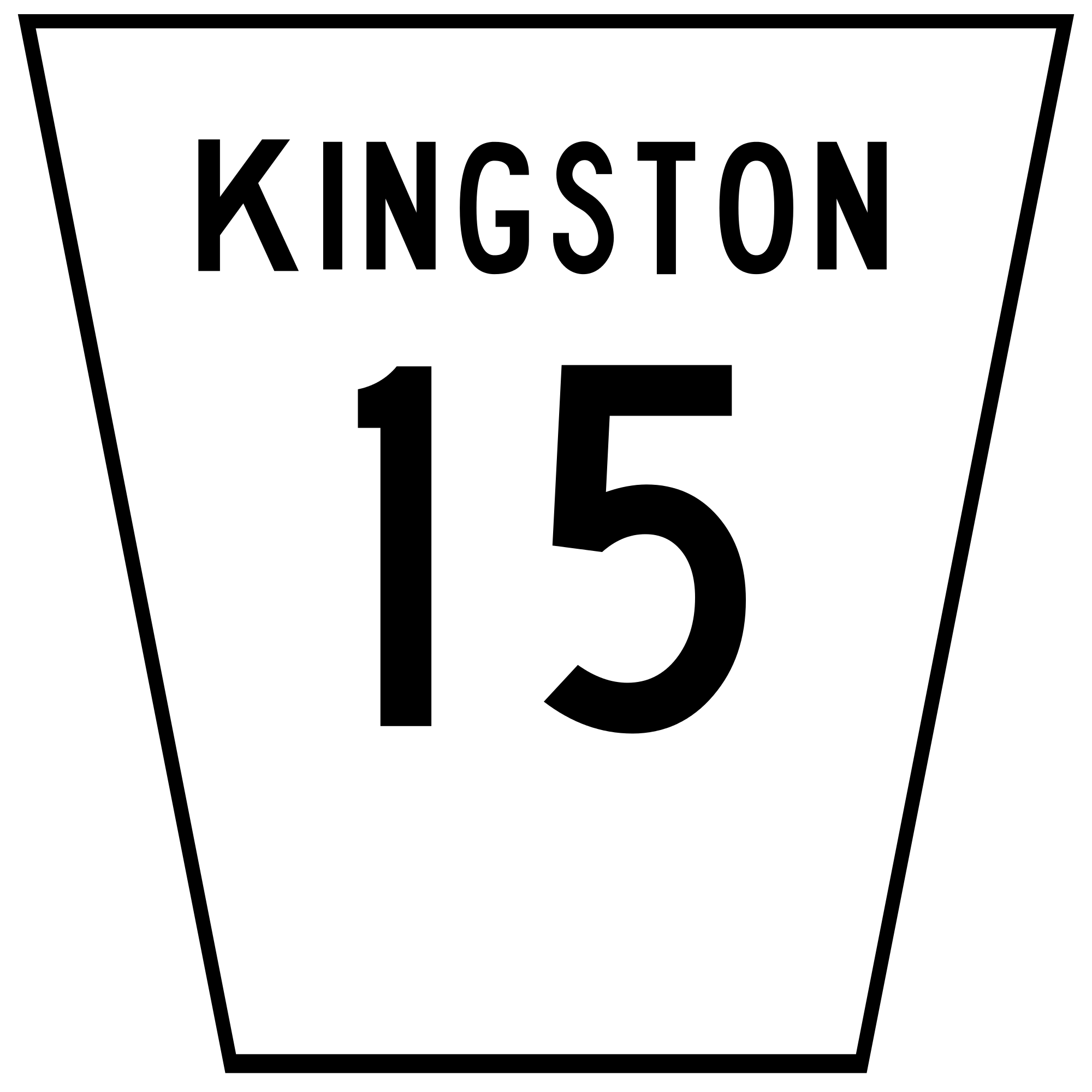 Clipart road city road. File kingston svg wikimedia