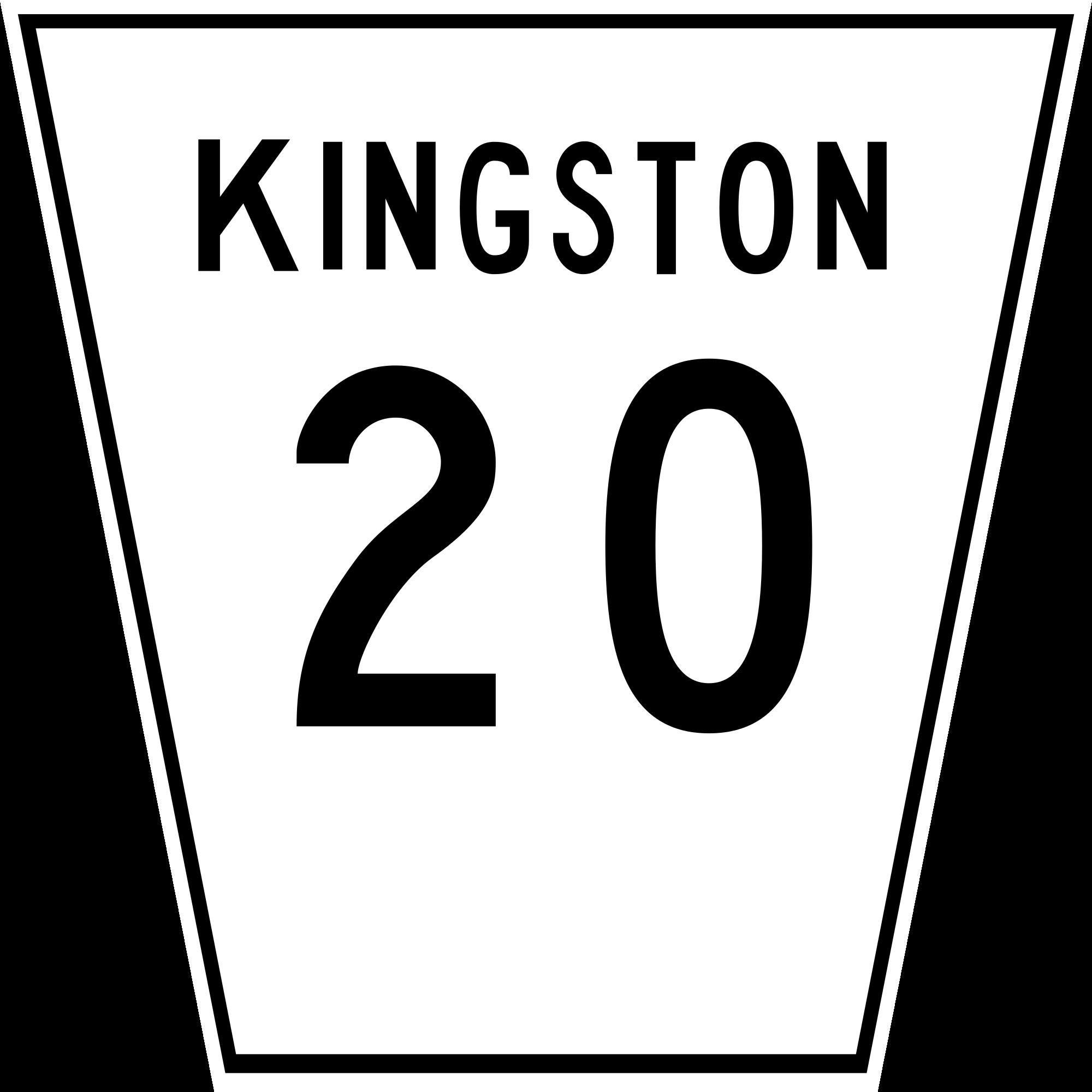 File kingston svg wikimedia. Clipart road city road