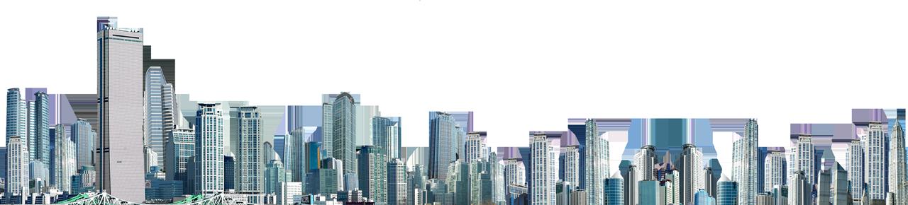 Cityscape high rise building
