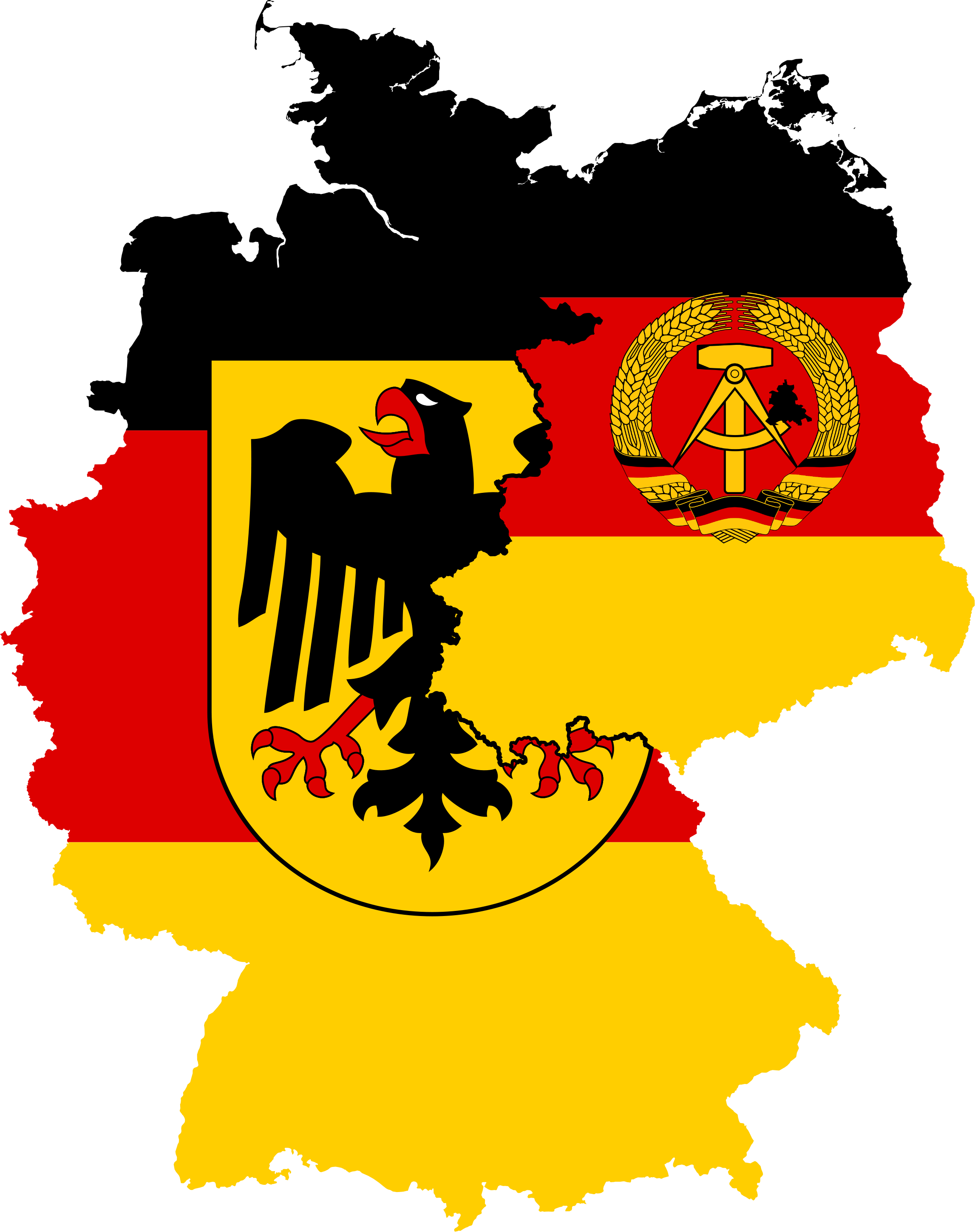 West germany and east. Lake clipart volcano crater