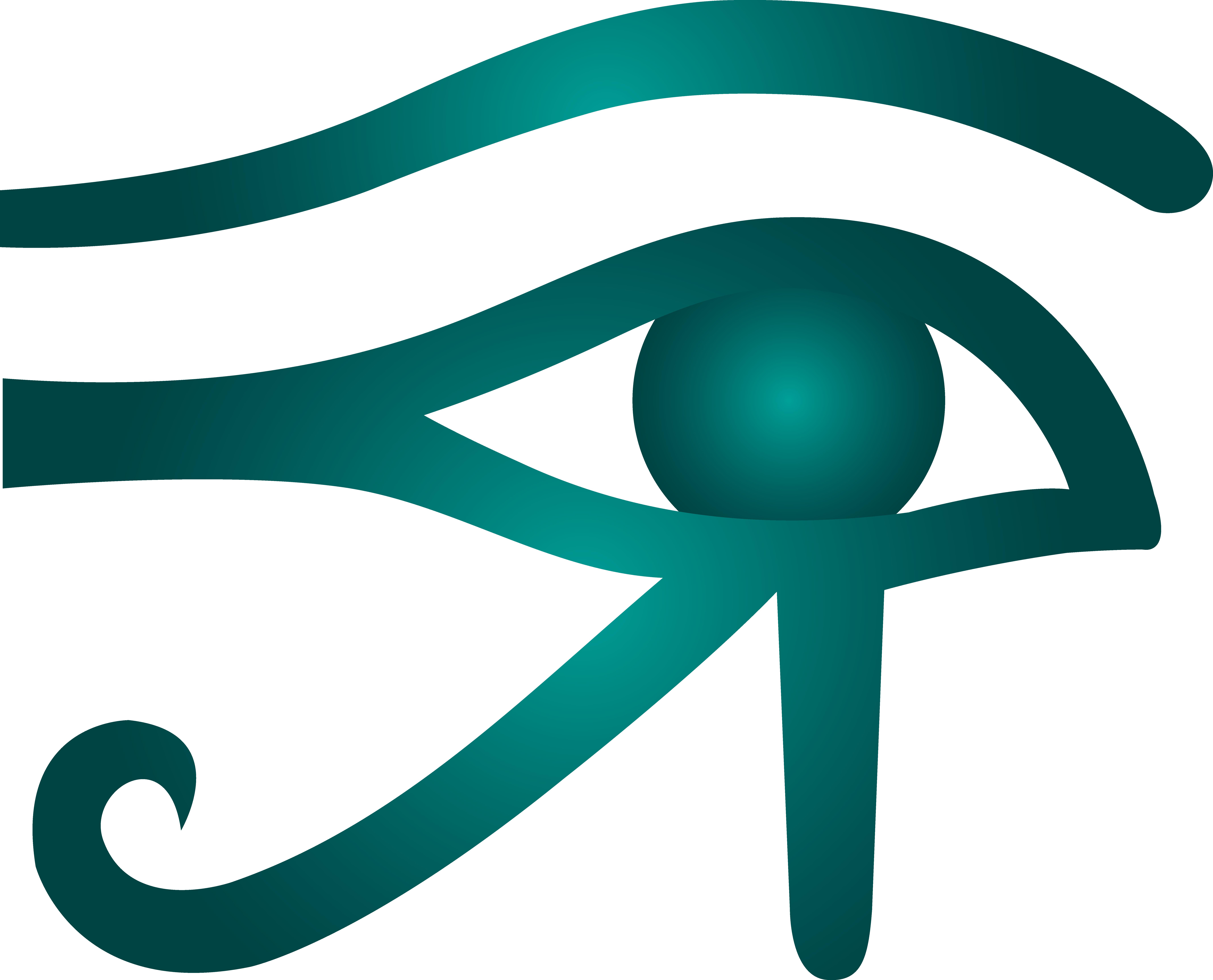 Clipart sun egyptian. Egypt horus pencil and