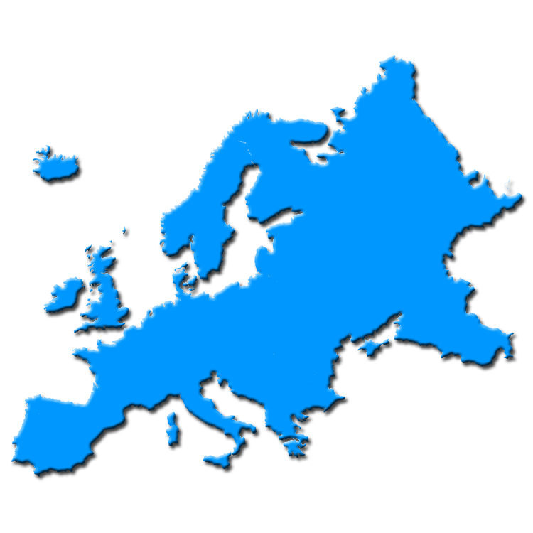 Europe clipart content. Silhouette at getdrawings com