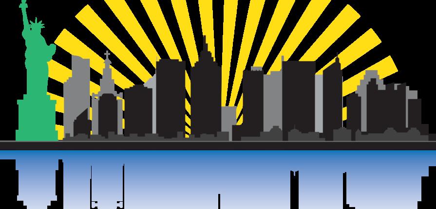 Night clipart city light. January newsletter christian academy