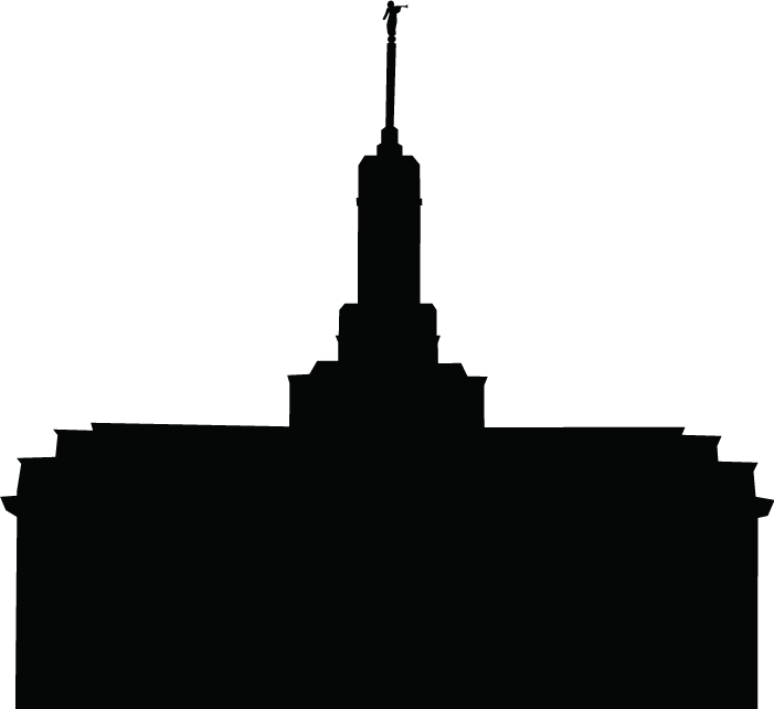 Lds clipart silhouette. Temple good site for