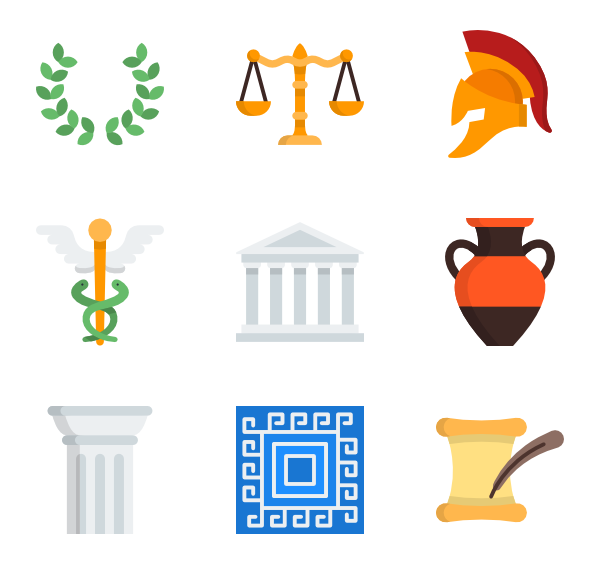 City clipart greece ancient.  icon packs vector