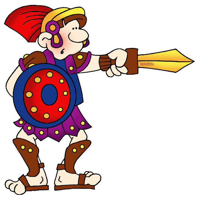 Trident clipart animated. Rome clip art by