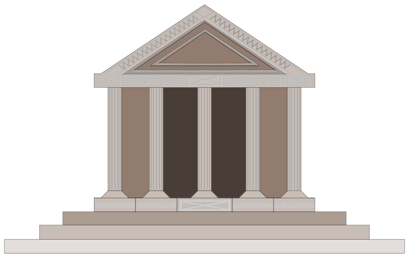 City clipart greece ancient.  collection of buildings