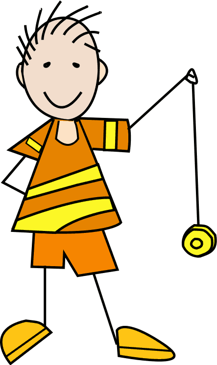 collection of kids. Fly clipart kid