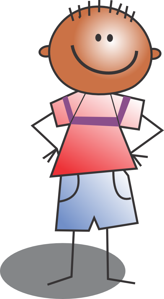 Dot clipart kid. Child clip art free