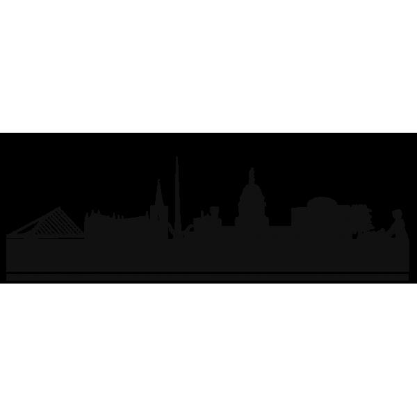 skyline clipart city landscape