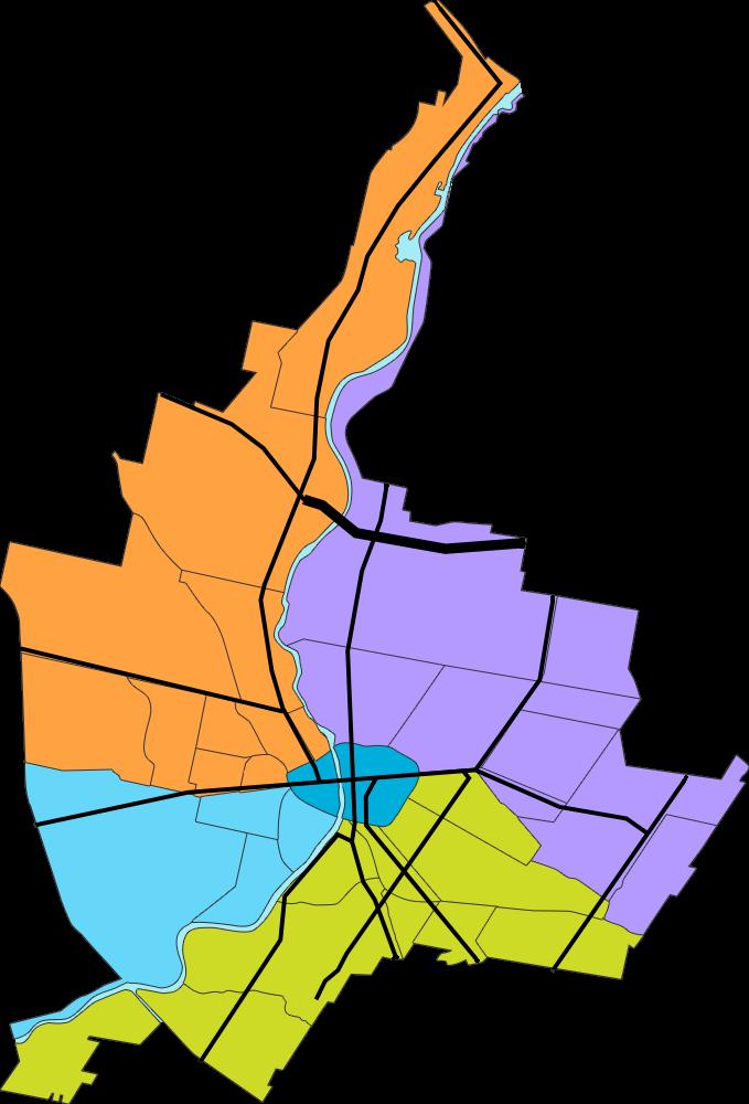 Rochester ny map celebrate. Neighborhood clipart neighborhood park