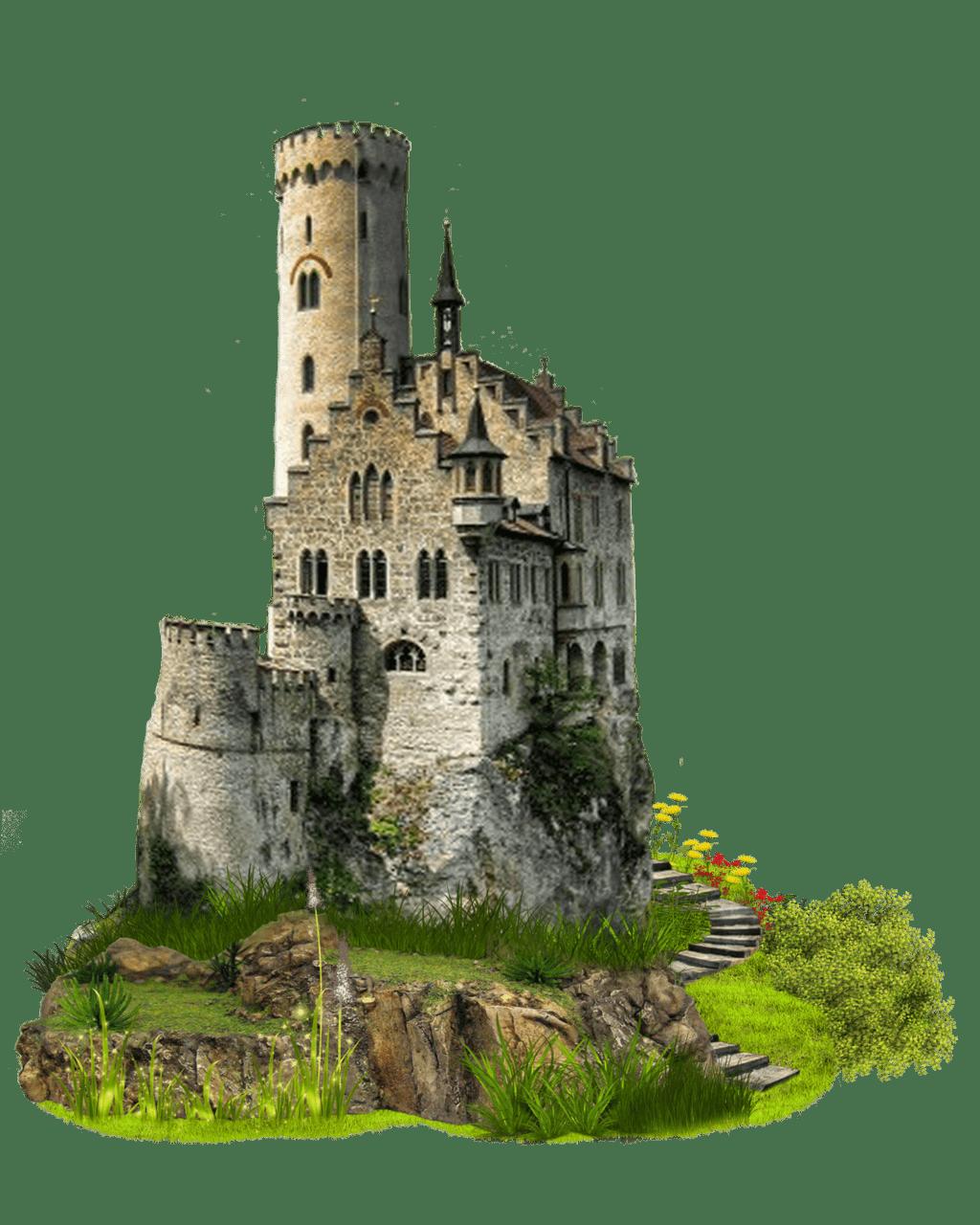 Hill clipart castle on. Bridge transparent png stickpng
