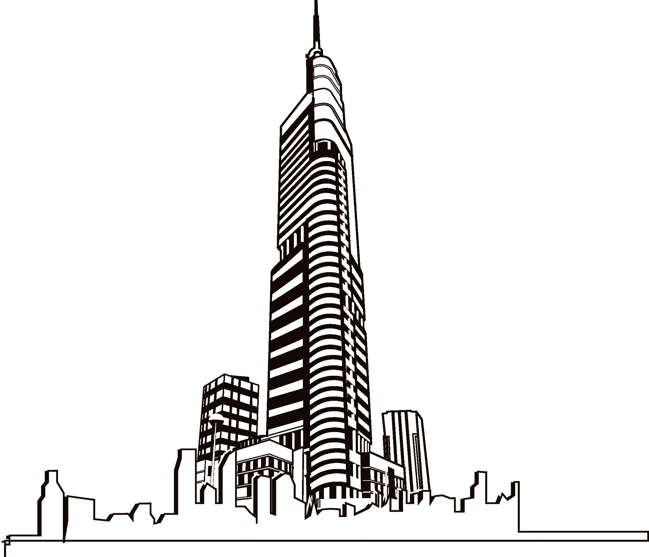 Skyscrapercity building clip art. City clipart metropolitan area
