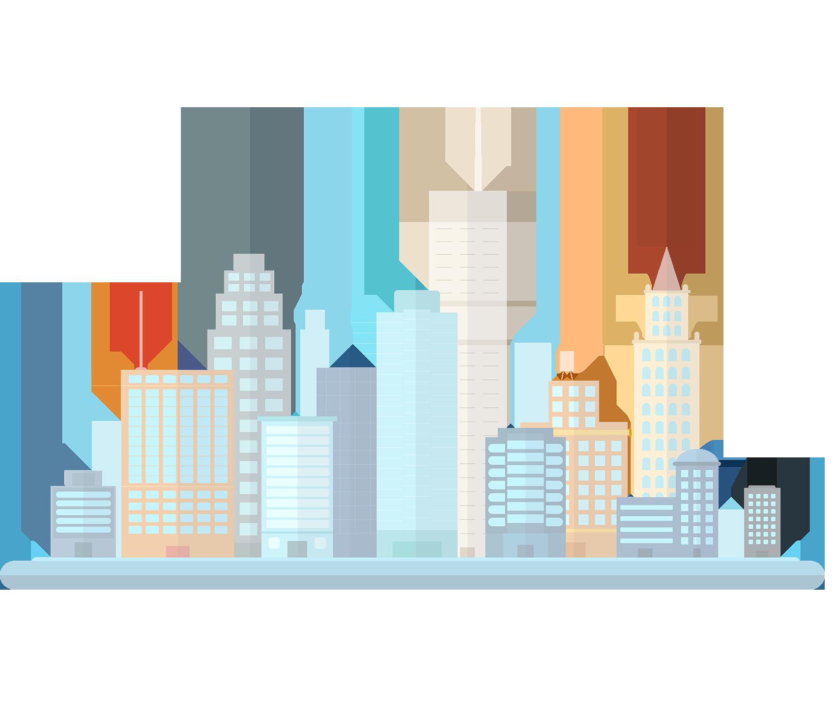 City clipart metropolitan area. Building cityscape clip art