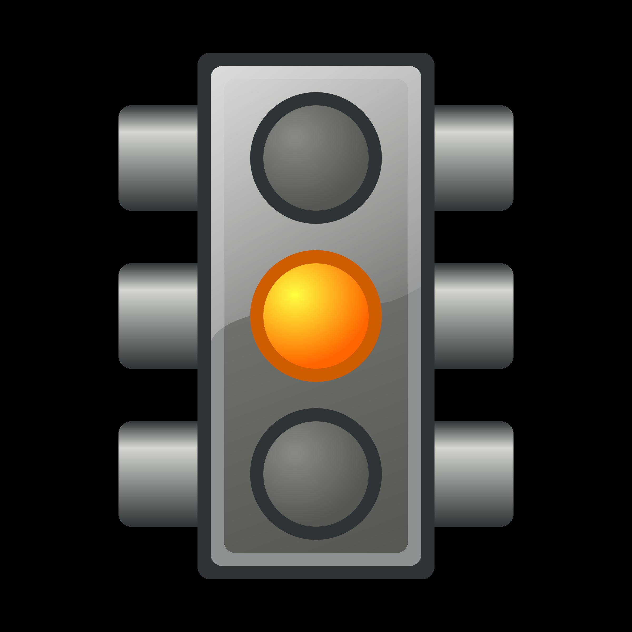 Free photo yellow light. Stress clipart traffic