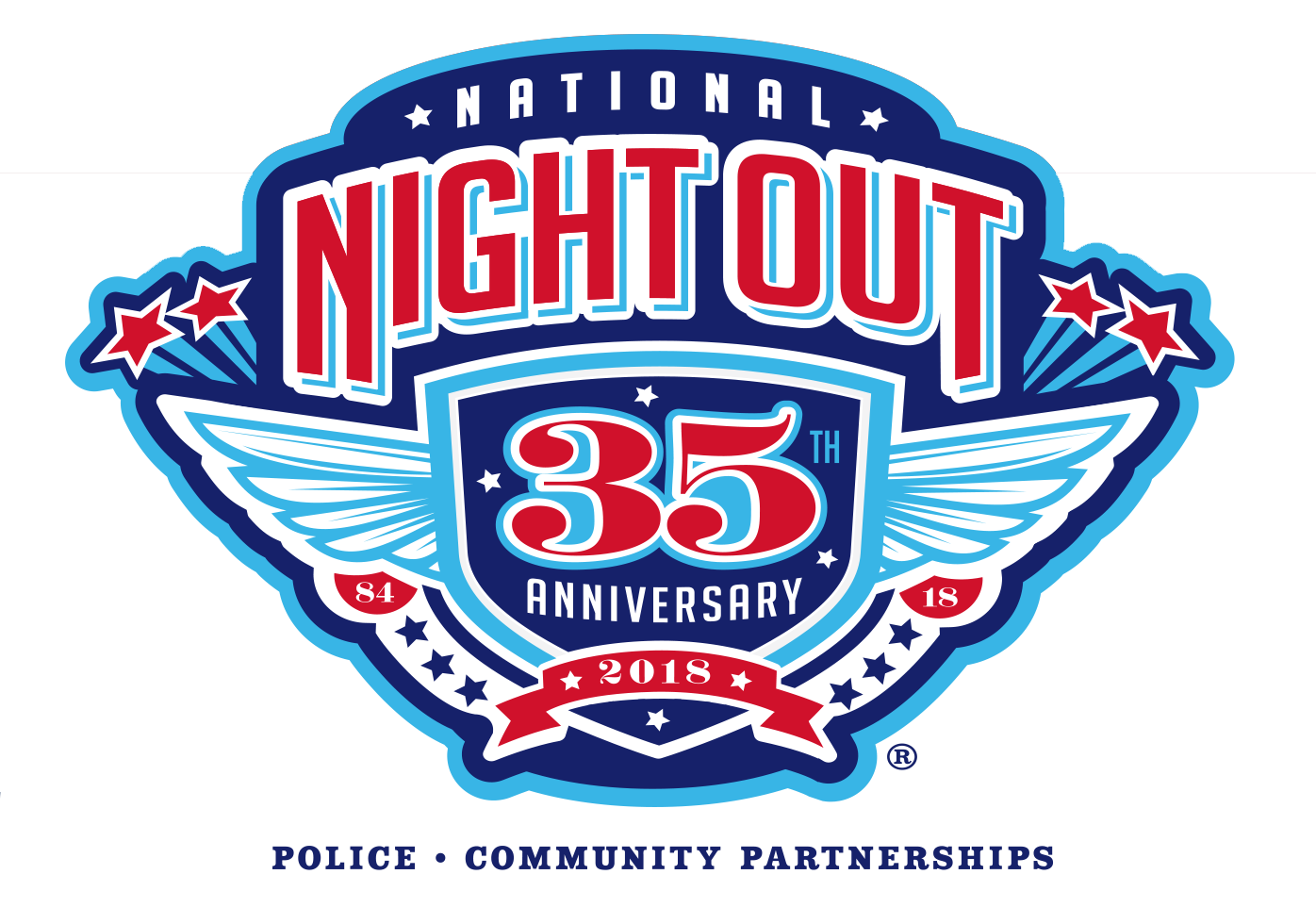 City clipart night light.  national out logo