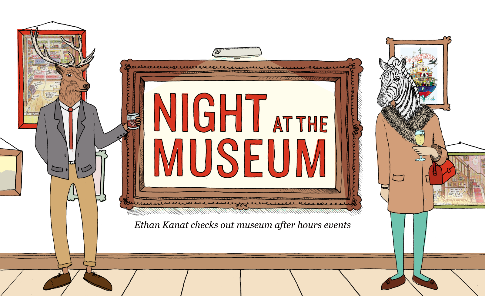 Night at the museum. Number 1 clipart bold