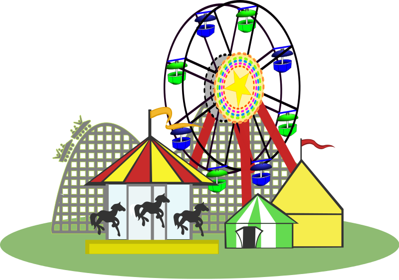 Game clipart funfair game.  collection of amusement