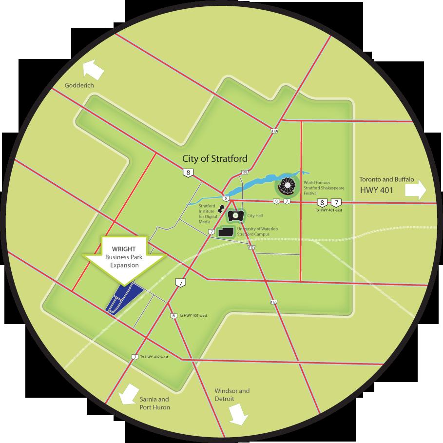 City clipart park. Wright business stratford circular