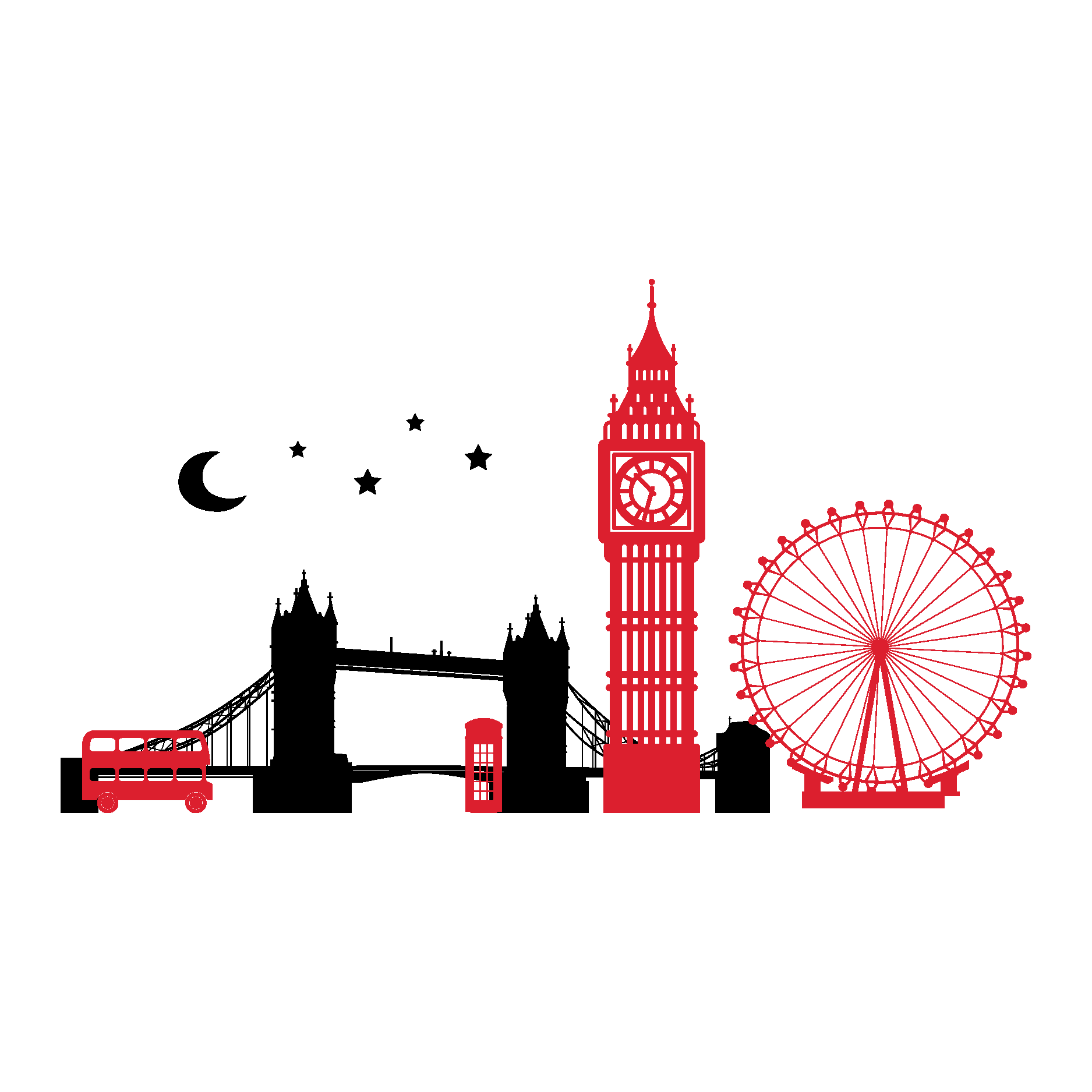 Skyline tattoos google search. Postcard clipart postcard london