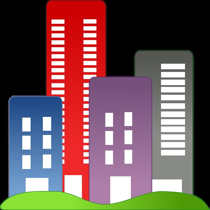 City clipart pixel. Free photo cityscape buildings