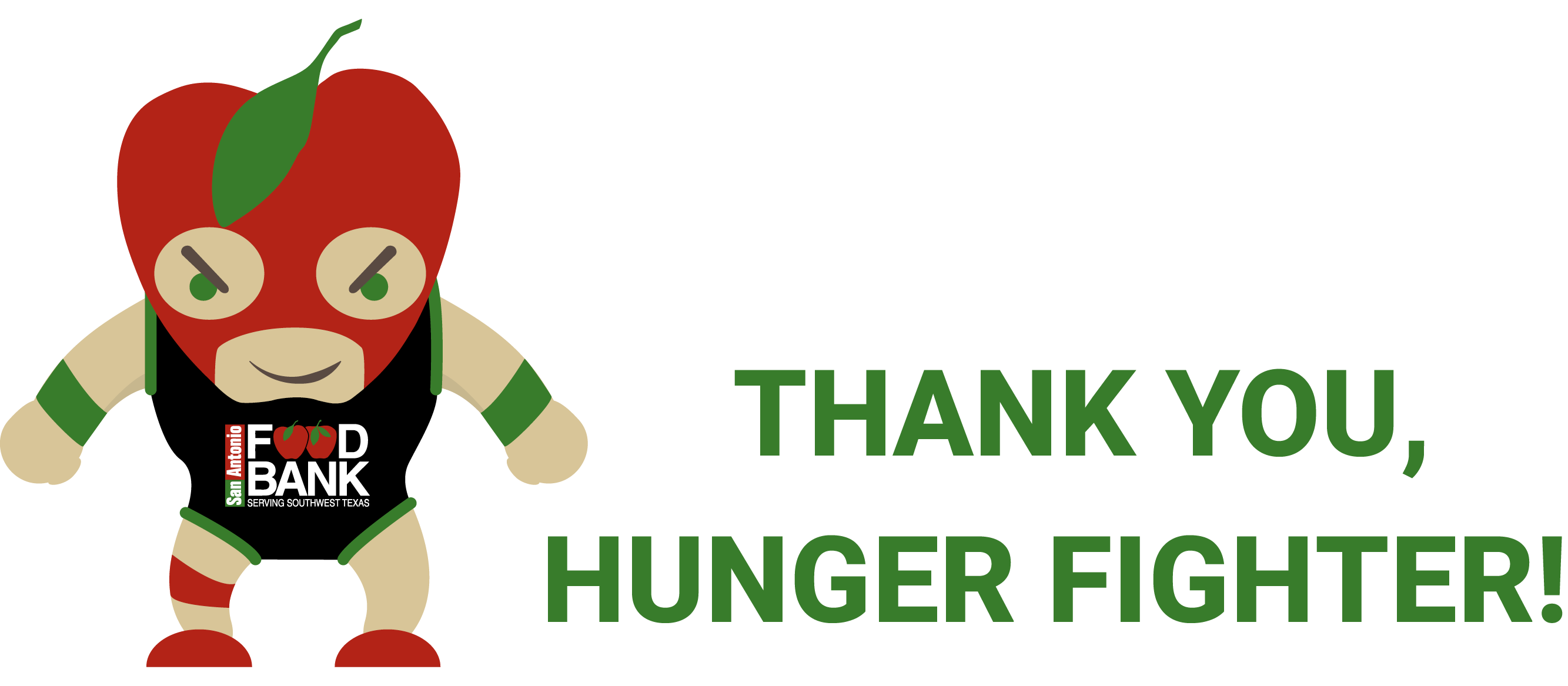 Donation confirmation san antonio. Foods clipart character