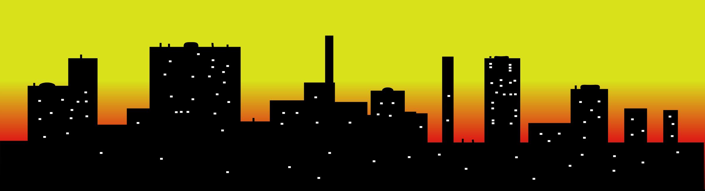 Neighborhood clipart skyline.  collection of city