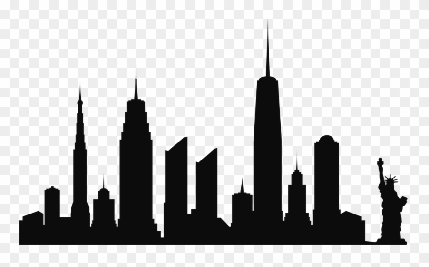 city clipart skyline new york city skyline new york