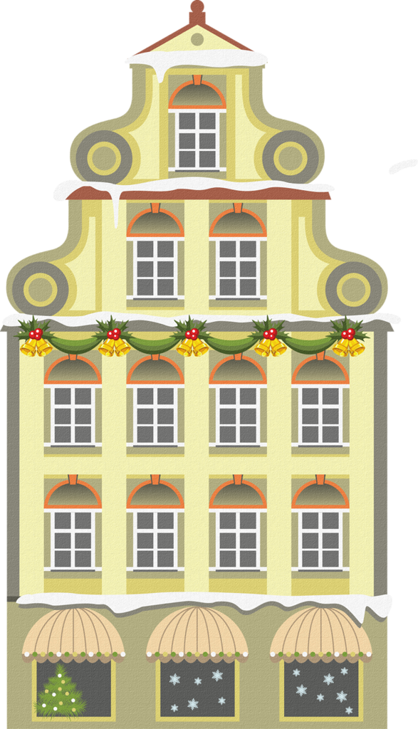Construction clipart christmas.  png pinterest villages
