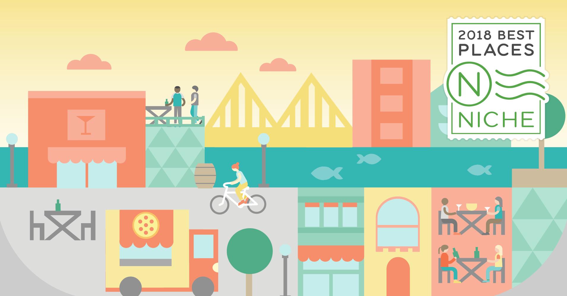 best suburbs for. Neighborhood clipart town center