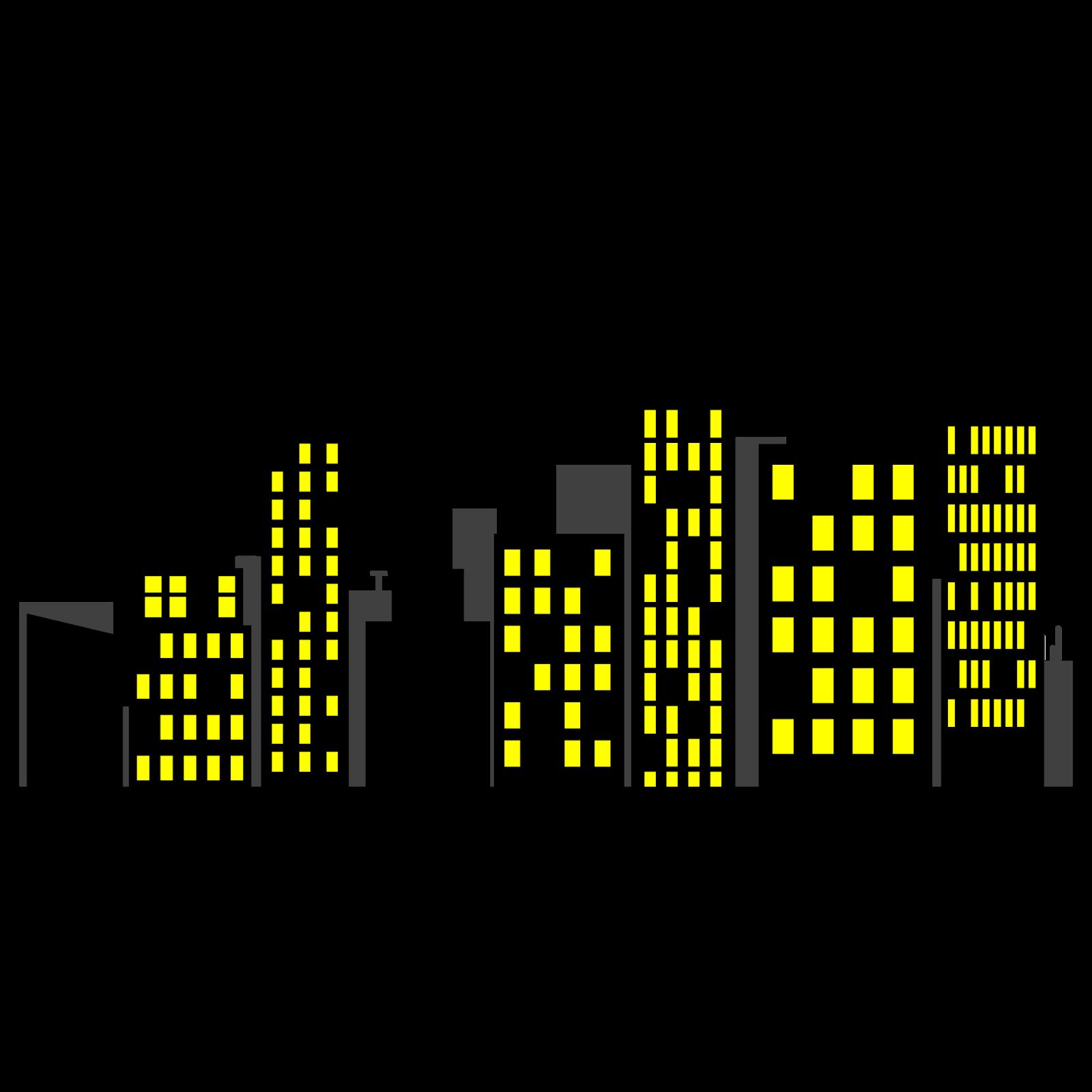 skyline clipart city backdrop