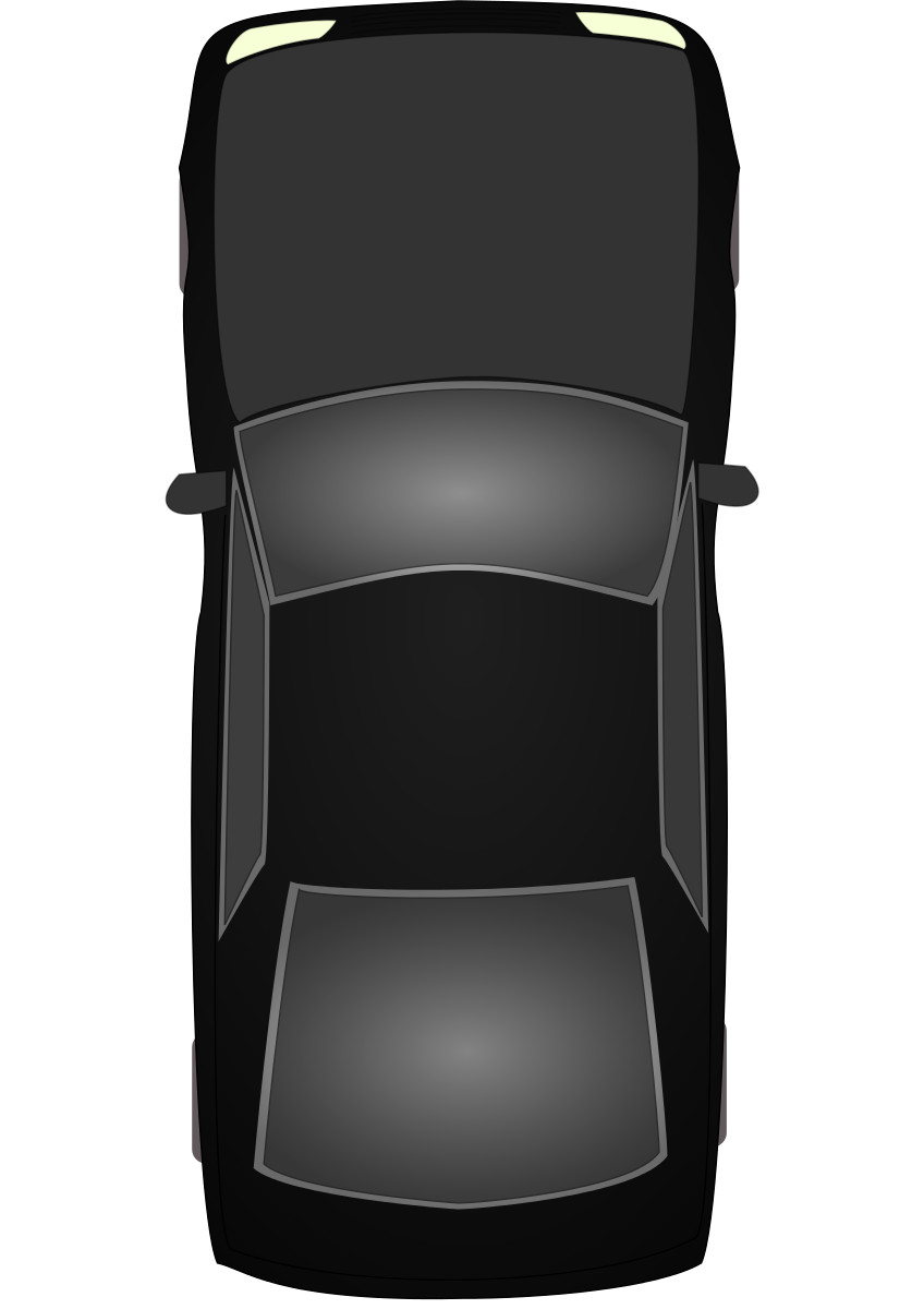 Car icons png vector. Minivan clipart top view