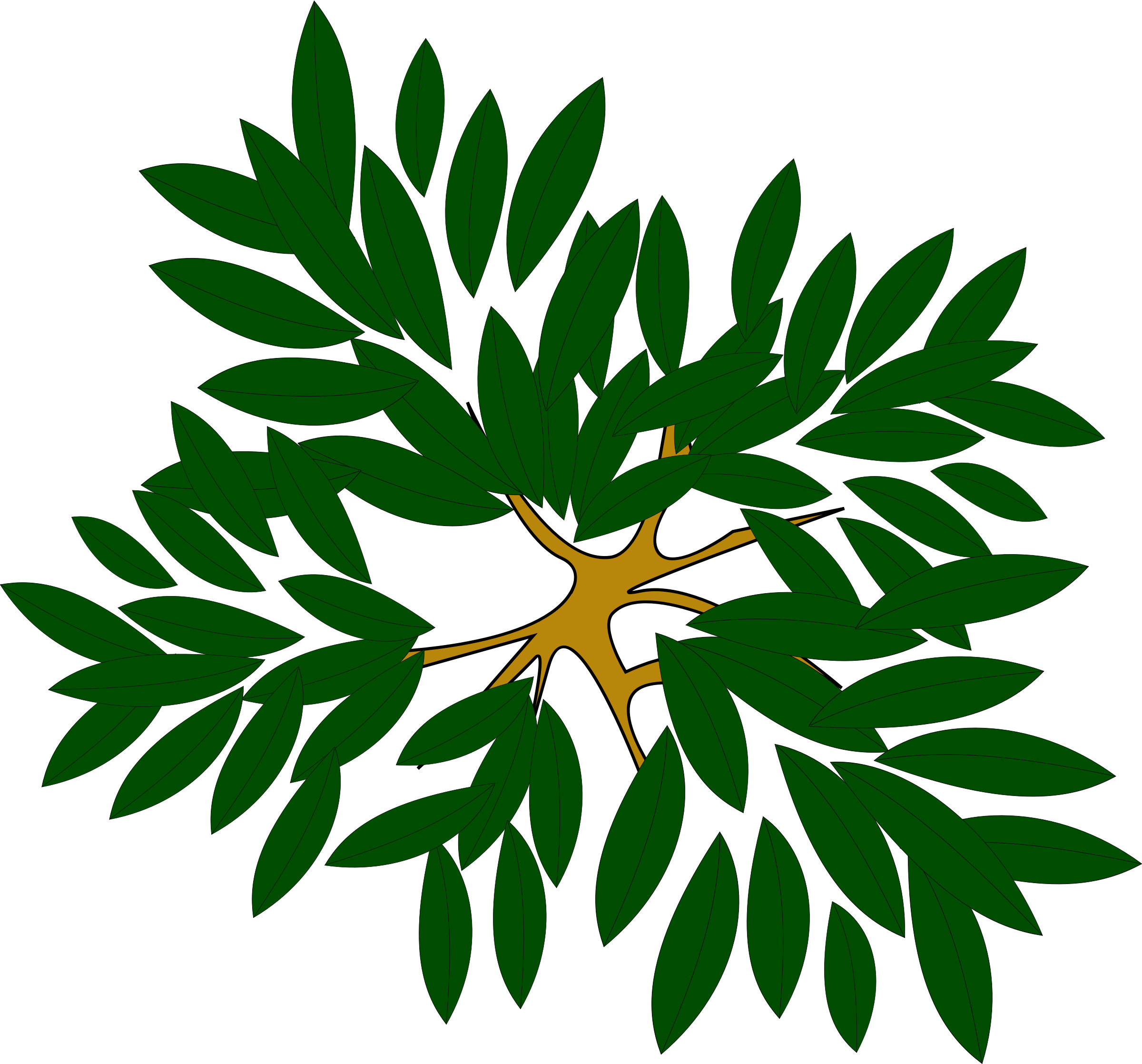 Trees psd tree with. Clipart door top view