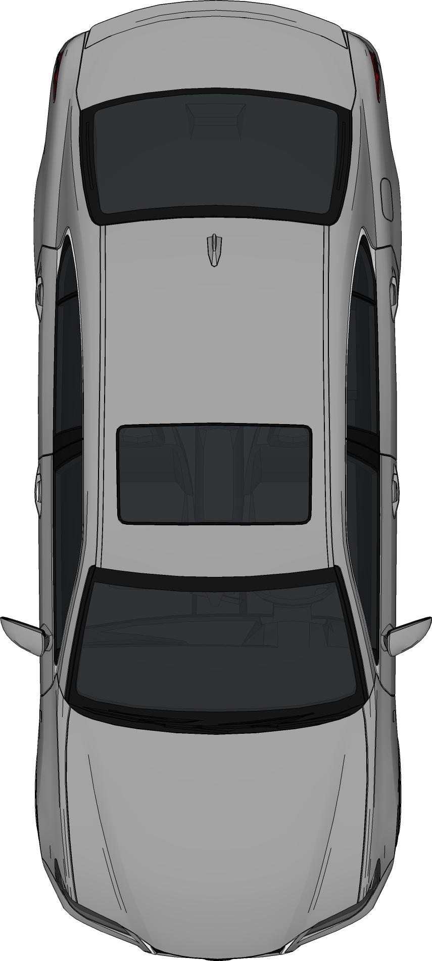 Minivan clipart top view. Car clip art bed