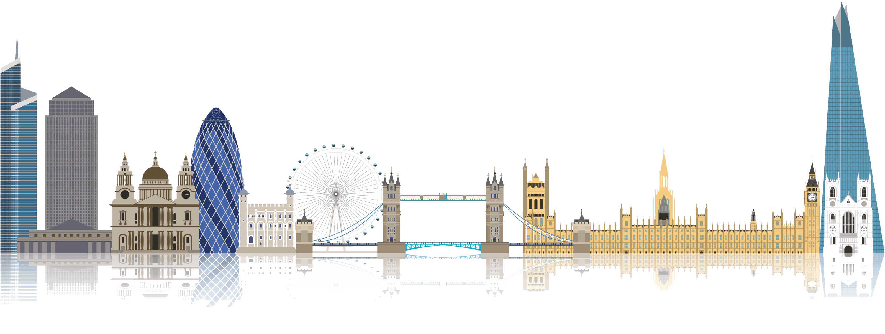 London eye png stickpng. City clipart transparent background