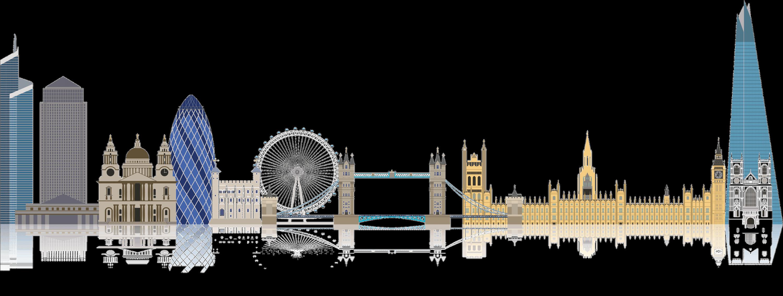 skyline clipart landmark london