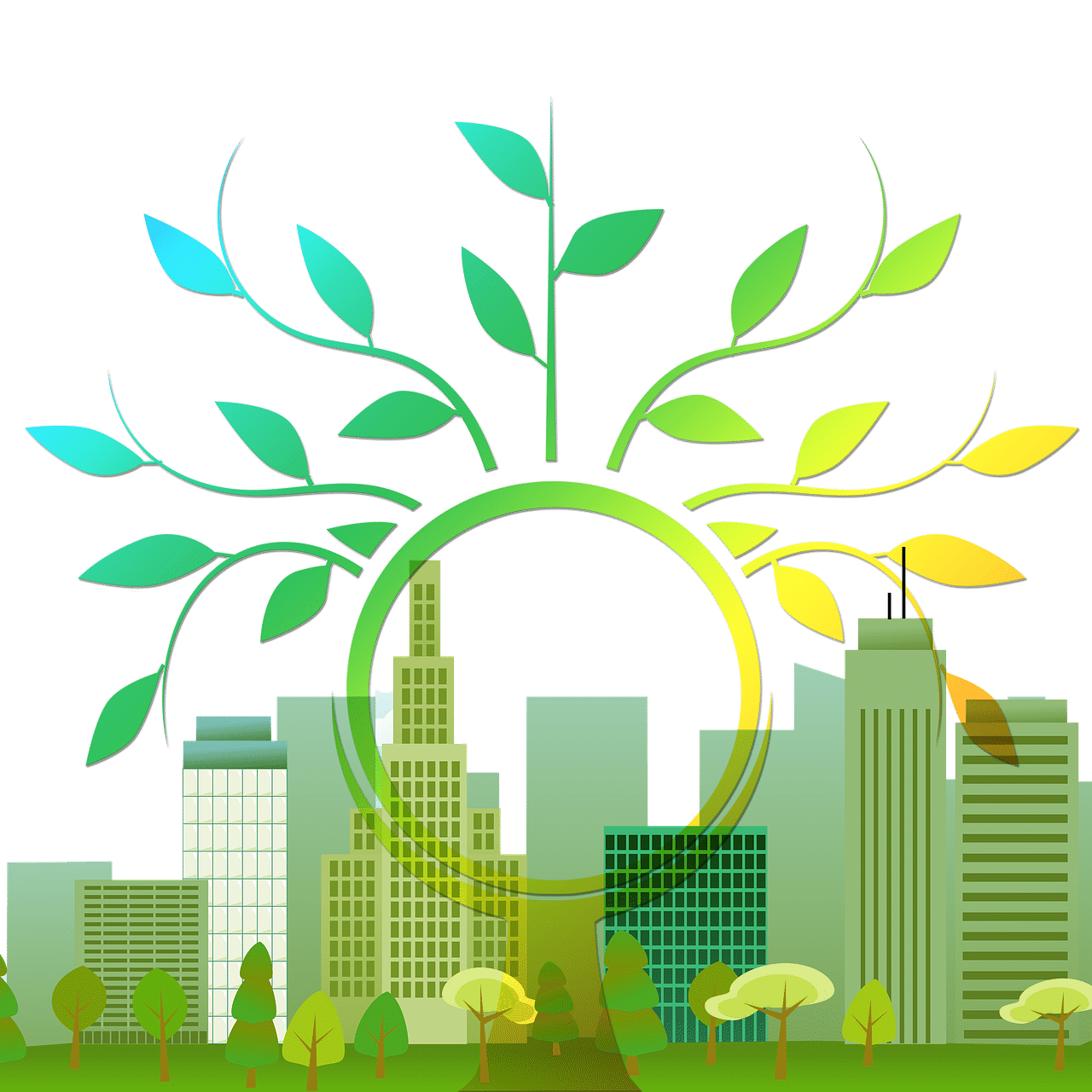 Environment clipart urban planning. Clean energy management by