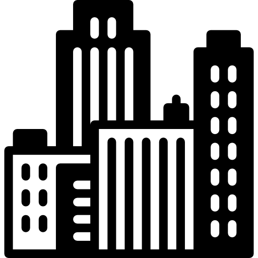 City icon png. Page svg
