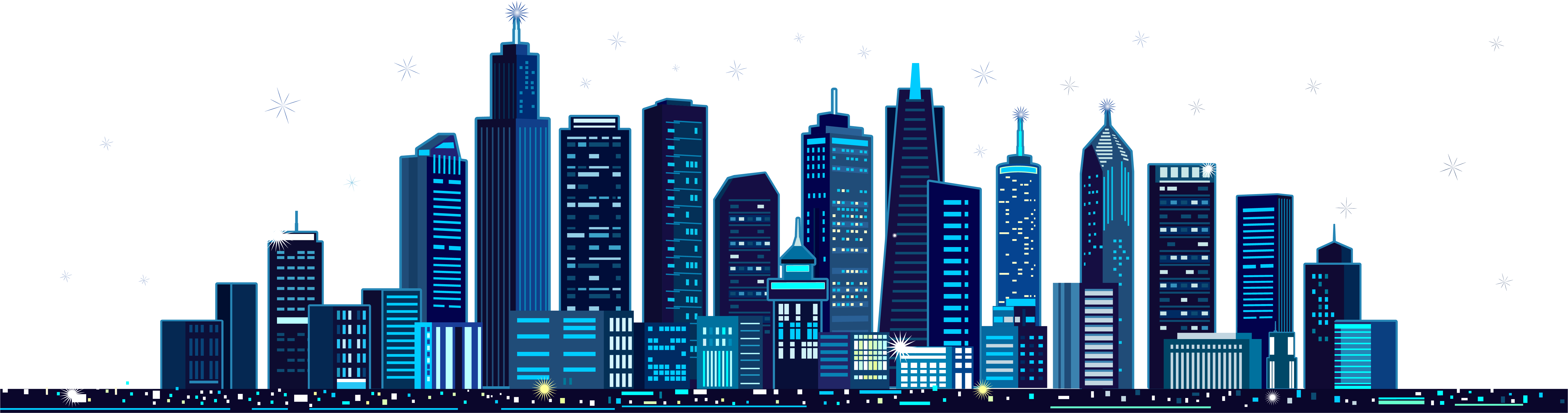 City vector png. Mid autumn festival illustration