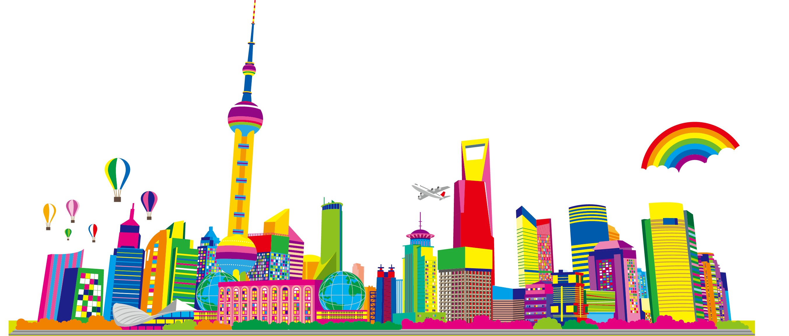 Cityscape clipart free download on WebStockReview
