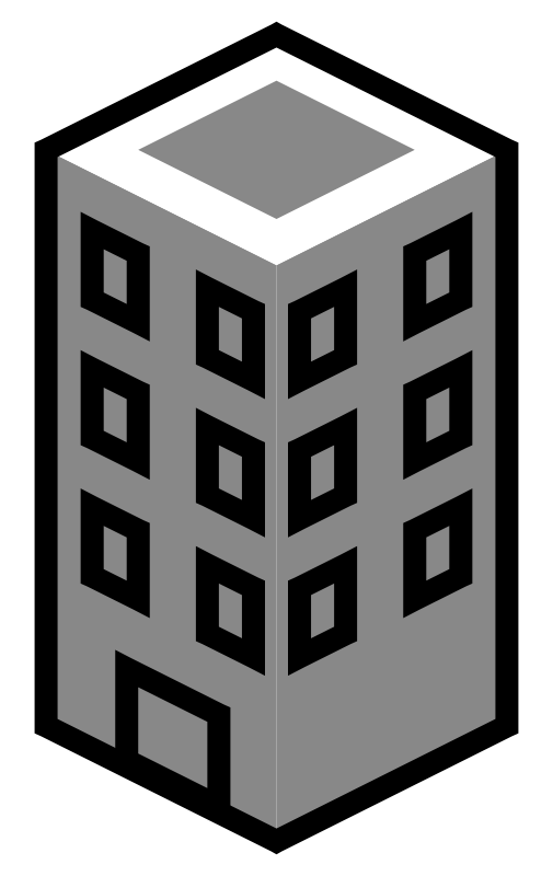 Collection of free establishing. Buildings clipart clip art