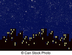 Free buildings cliparts download. Night clipart city